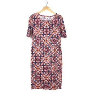 LuLaRoe Dresses - LulaRoe Julia Dress Size Medium 8-10